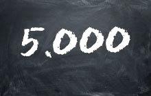 fünftausend