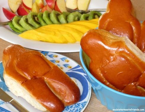 Weckmann Frühstück