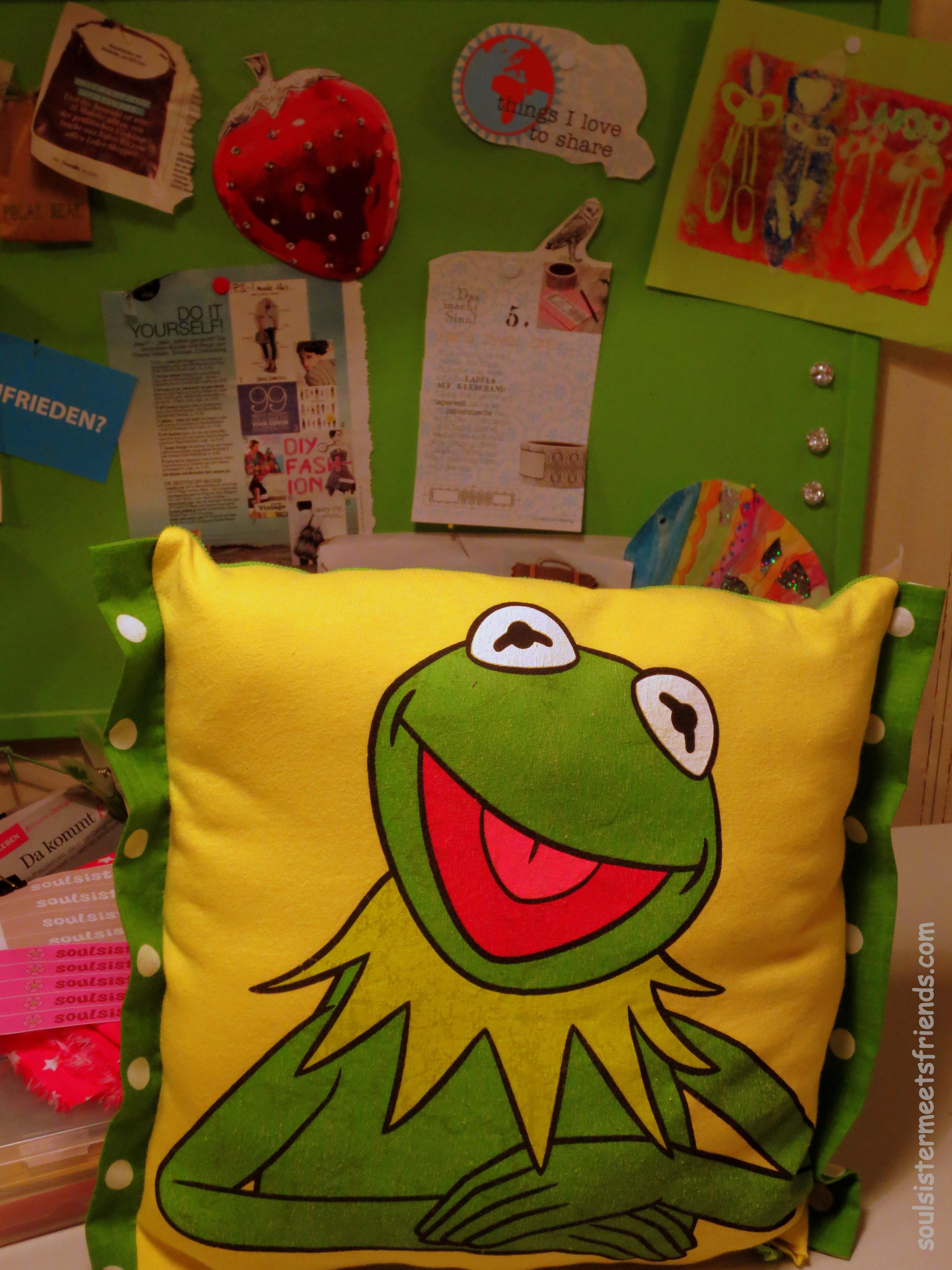 Kermitkissen