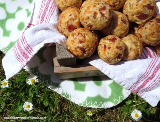 Pizzabrötchen Picknick