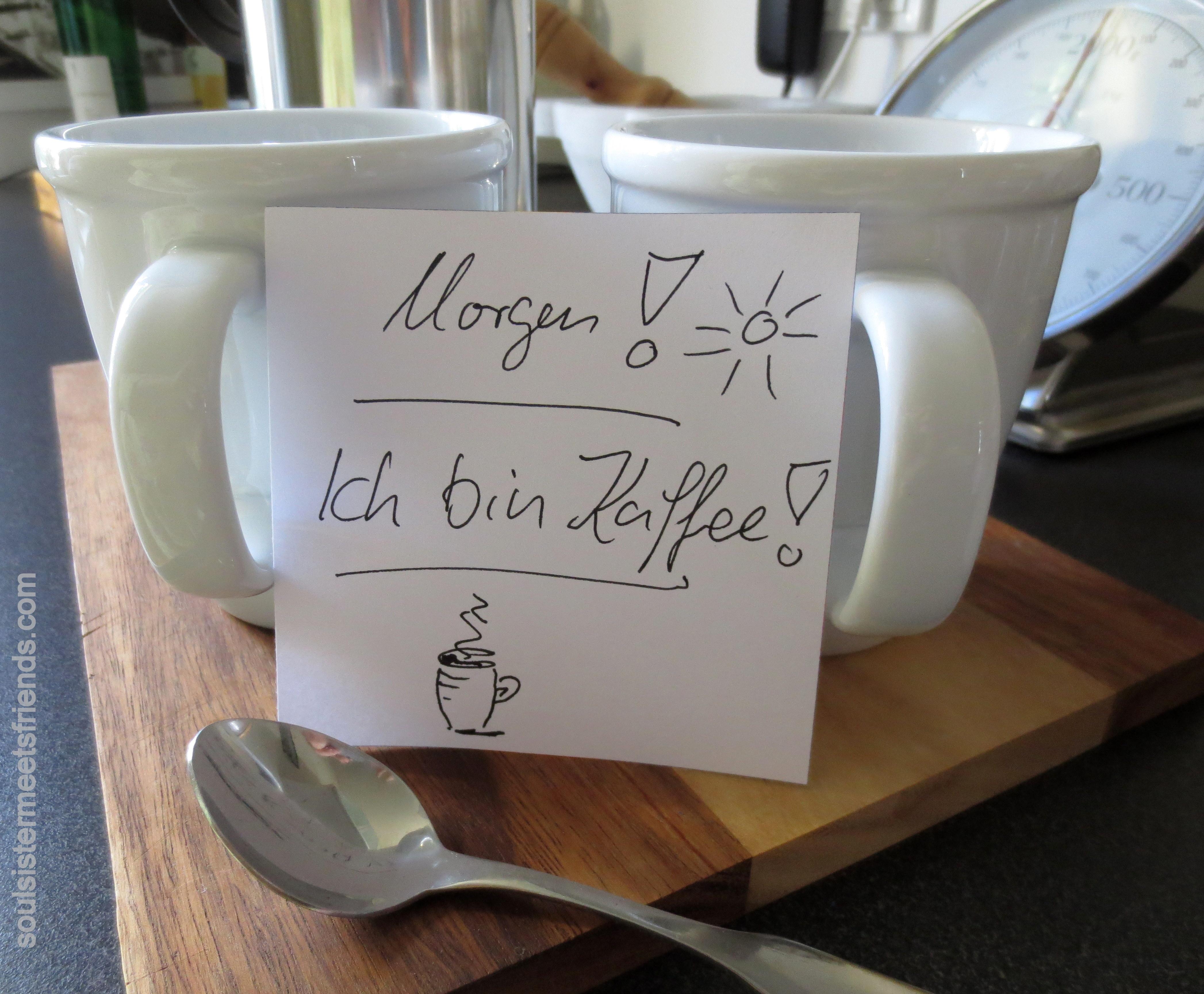 Ich bin Kaffee