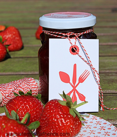 Marmelade mit Tag