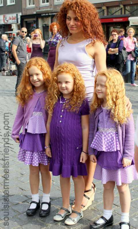 drei Mädchen B